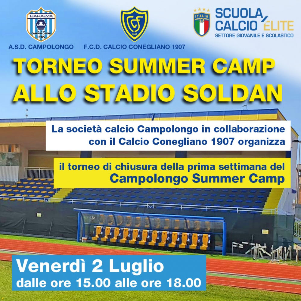 TORNEO SUMMER CAMP ALLO STADIO SOLDAN